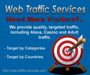 Web Traffic Services - Perfect for Busy Webmasters and Websites That Need Lots of Real Visitors Without Any Effort